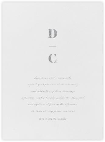 Mast - Platinum - Vera Wang - Wedding Invitations