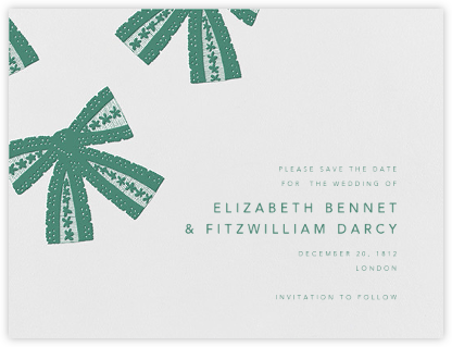 Tie the Knot (Save the Date) - Hunter Green | null