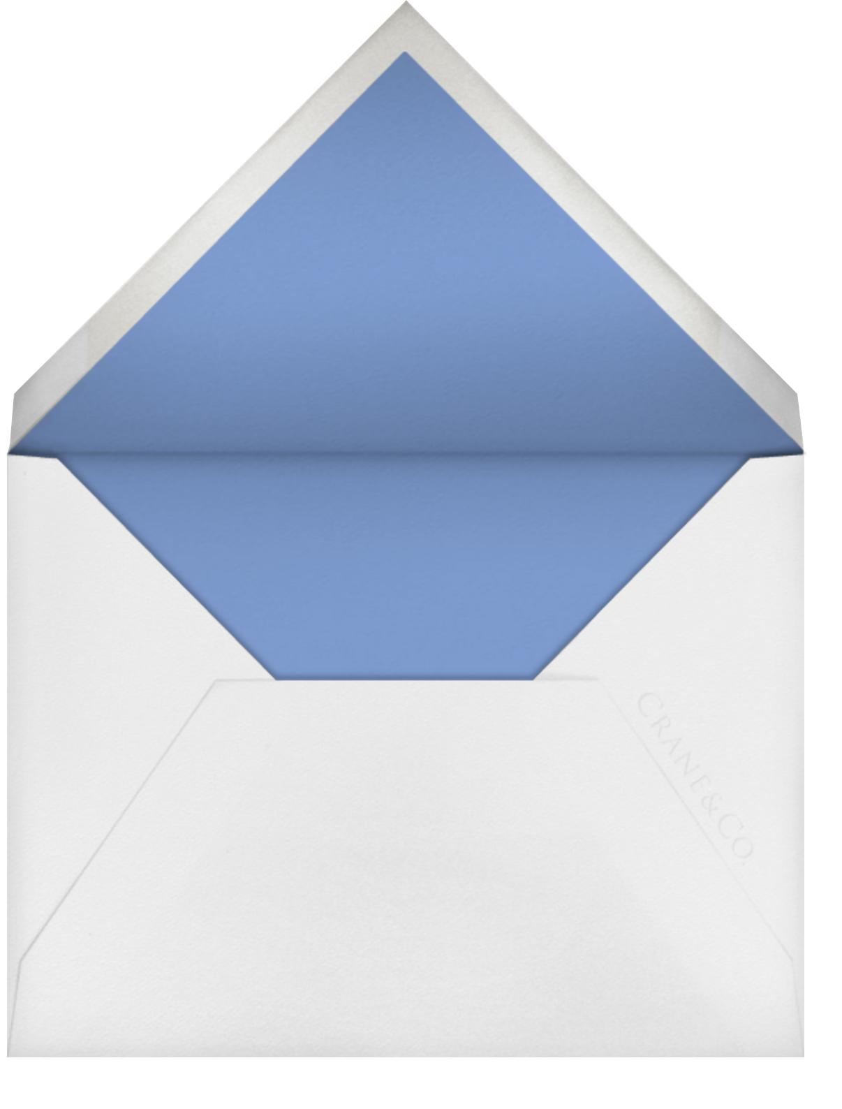 Roman - Newport Blue - Vera Wang - Vera Wang - envelope back