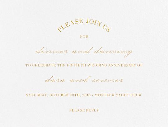 Anniversary party invitation ~ Anniversary invitations party invitations online at paperless post