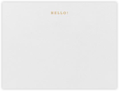 Hello! - Paperless Post -