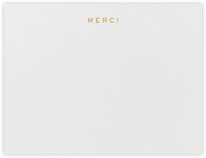 Merci - Paperless Post - General thank you notes