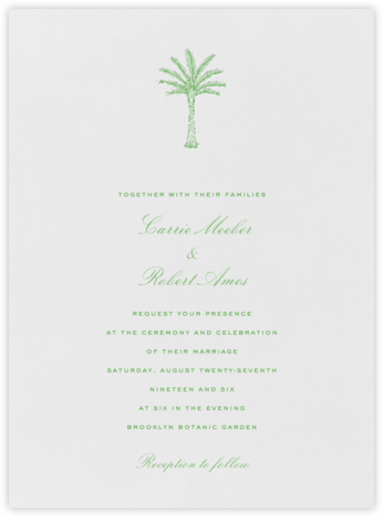 Mascarene - Crane & Co. - Destination wedding invitations