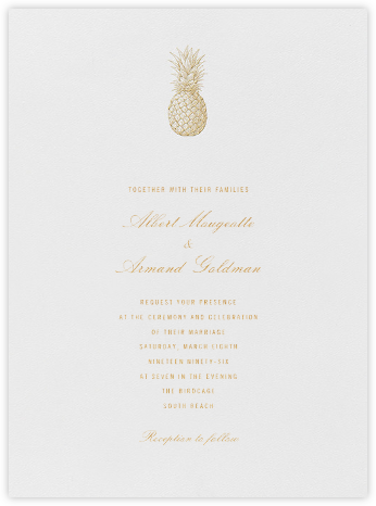 Basse - Terre - Crane & Co. - Wedding Invitations