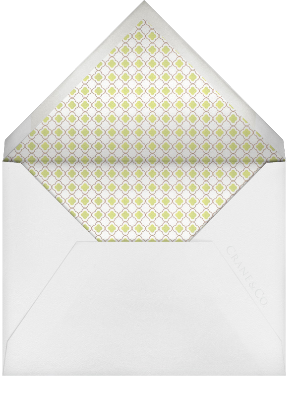Basse - Terre (Stationery) - Crane & Co. - Wedding - envelope back