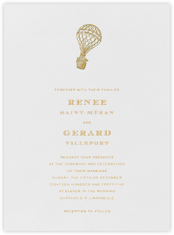 Bristol Belle - Crane & Co. - Wedding Invitations