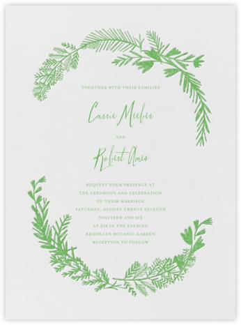 Miss Mimi Margeaux I (Invitation) - Spring Green - Mr. Boddington's Studio -