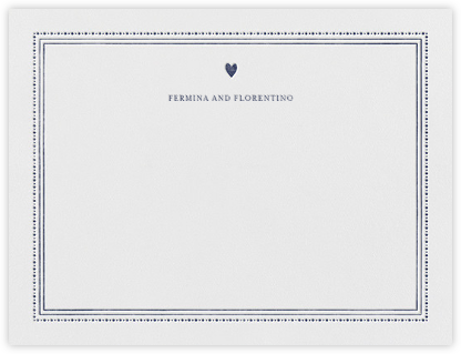 Miss Cricket (Stationery) - Navy - Mr. Boddington's Studio - Personalized Stationery