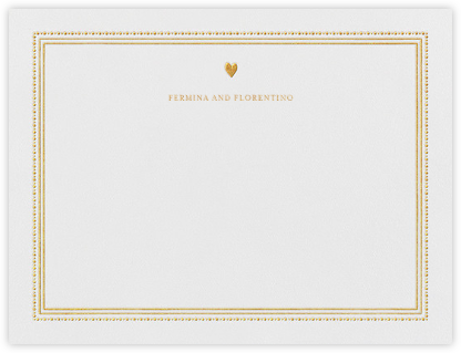 Miss Cricket (Stationery) - Gold - Mr. Boddington's Studio - Personalized Stationery