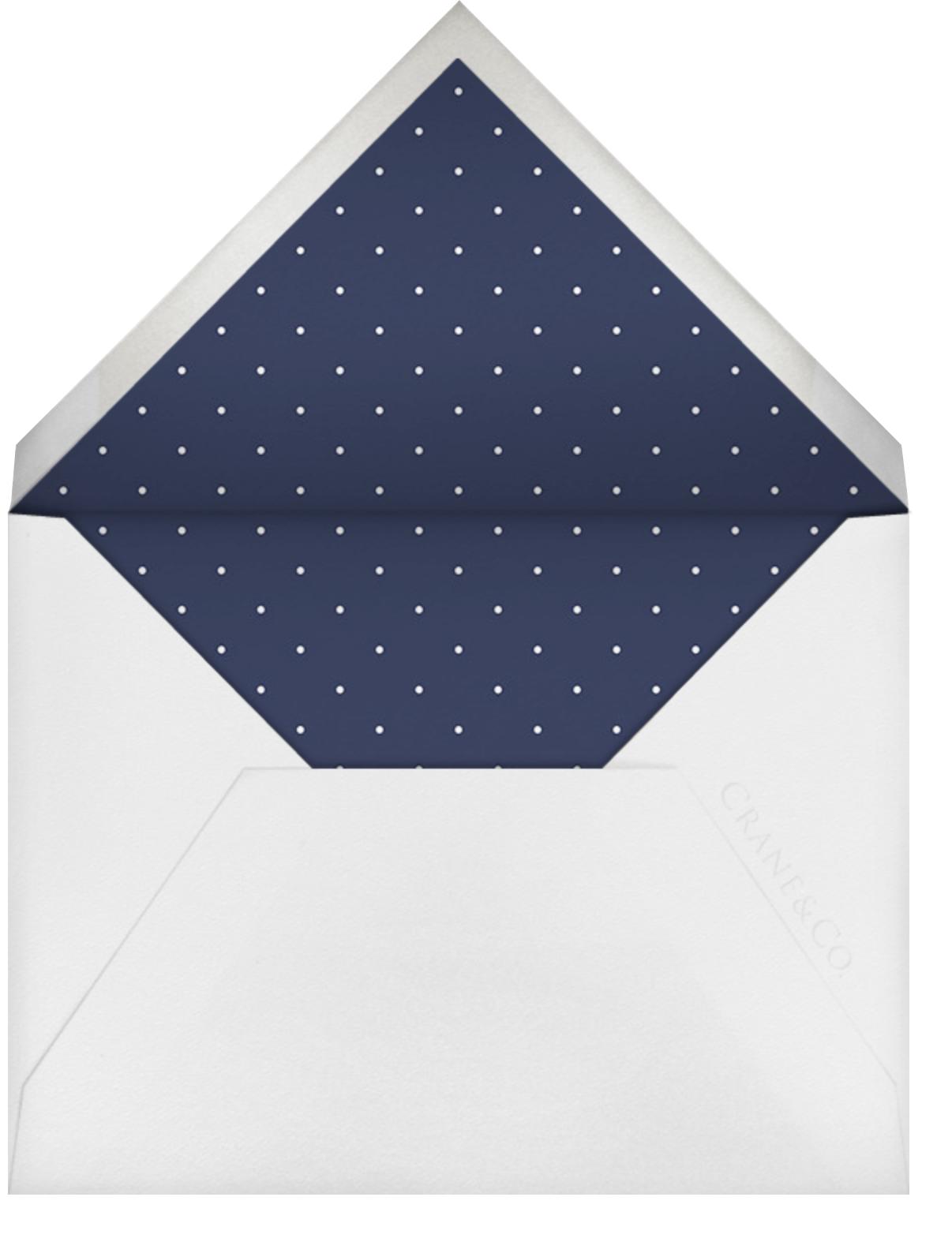 Double Loop Frame I (Invitation) - Gold - Paperless Post - All - envelope back