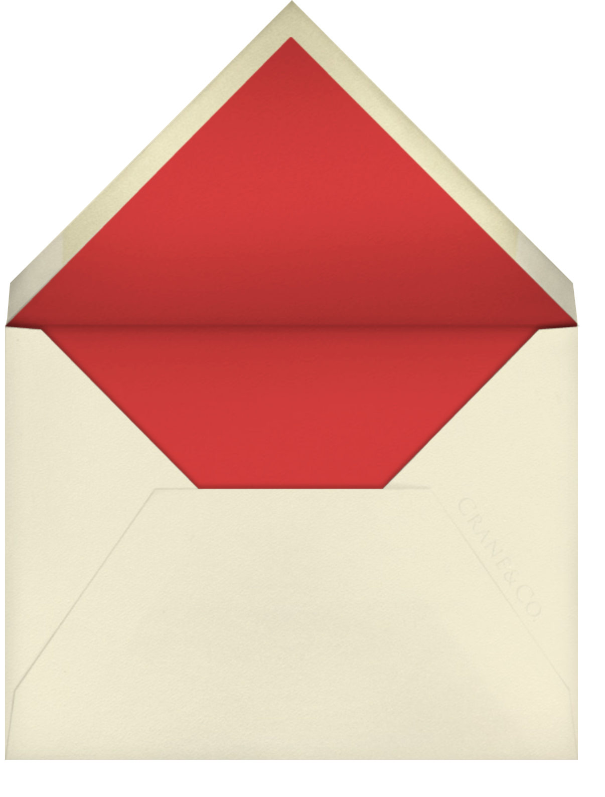 Ghera I (Stationery) - Paperless Post - Personalized stationery - envelope back