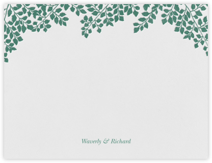 Fern I (Stationery) - Paperless Post - Personalized Stationery