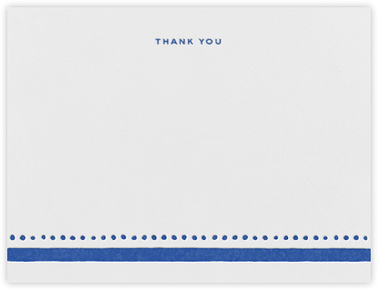 Charlotte Street I (Stationery) - kate spade new york - Wedding thank you notes