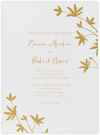 Oliver Park I (Invitation) - kate spade new york - Kate Spade invitations, save the dates, and cards