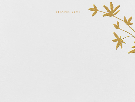 Oliver Park I (Stationery) - kate spade new york - Wedding thank you notes