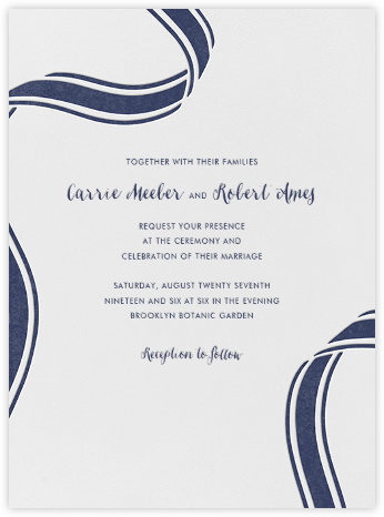 Ellis Hall I (Invitation) - kate spade new york - Kate Spade invitations, save the dates, and cards