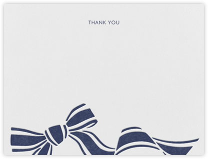 Ellis Hall I (Stationery) - kate spade new york - Online thank you notes