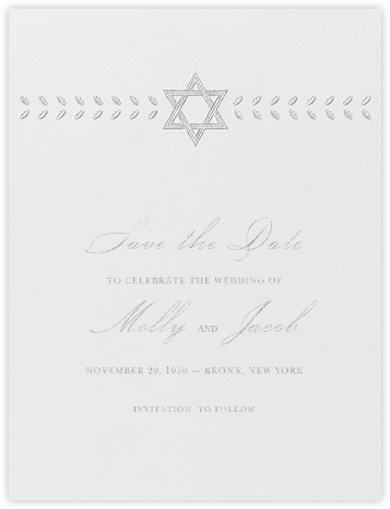 Kayitz I (Save the Date) - Platinum - Paperless Post - Save the dates