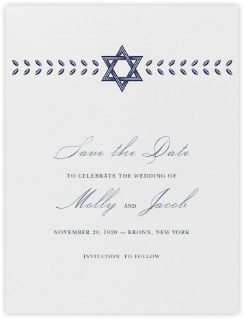 Kayitz I (Save the Date) - Navy - Paperless Post - Save the dates