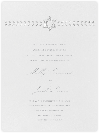 Kayitz I (Invitation) - Platinum - Paperless Post - Wedding Invitations