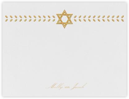Kayitz I (Stationery) - Gold - Paperless Post -