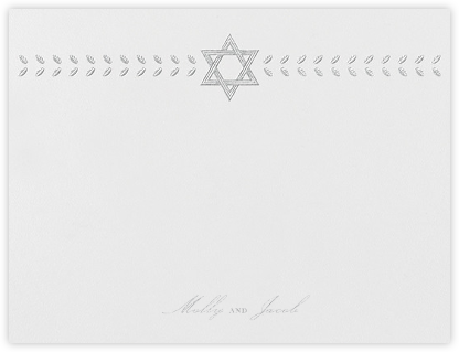Kayitz I (Stationery) - Platinum - Paperless Post - Personalized Stationery
