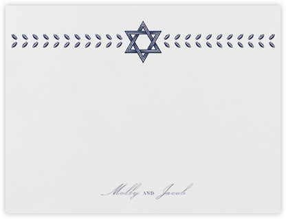 Kayitz I (Stationery) - Navy - Paperless Post - Personalized stationery