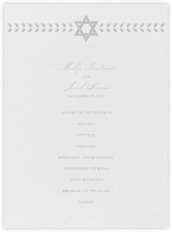 Kayitz I (Program) - Platinum - Paperless Post