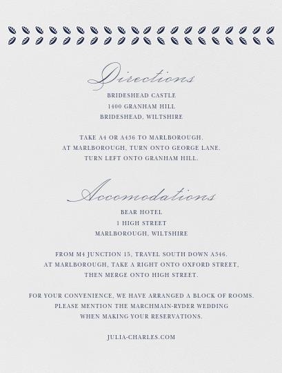 Lamina I (Invitation) - Navy - Paperless Post - All - insert front