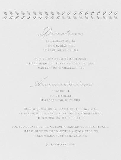 Lamina I (Invitation) - Platinum - Paperless Post - All - insert front