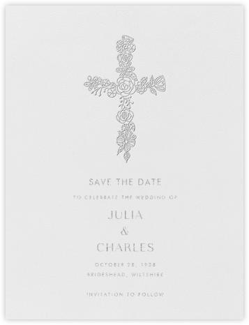 Thérèse I (Save the Date) - Platinum - Paperless Post