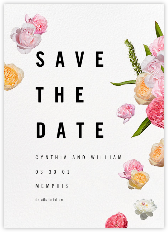 Brunswick (Save the Date) - Paperless Post - Modern save the dates