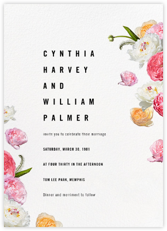 Brunswick (Invitation) - Paperless Post - Destination wedding invitations