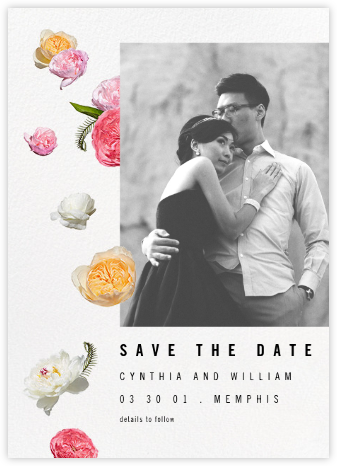 Brunswick (Photo Save the Date) - Paperless Post - Modern save the dates