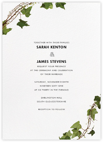 Berkshire (Invitation) - Paperless Post - Modern wedding invitations
