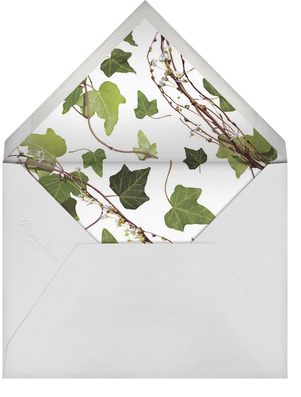 Berkshire (Photo Save the Date) - Paperless Post - Modern  - envelope back
