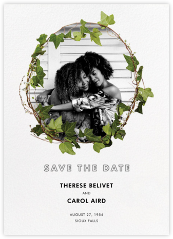 Berkshire (Photo Save the Date) - Paperless Post - Modern save the dates