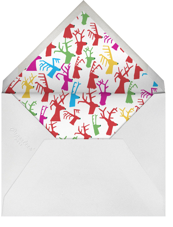 Dasher's Entourage - Mixed - Mr. Boddington's Studio - Christmas party - envelope back