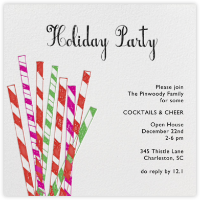 Laughing All the Way - Bermuda - Mr. Boddington's Studio - Holiday invitations