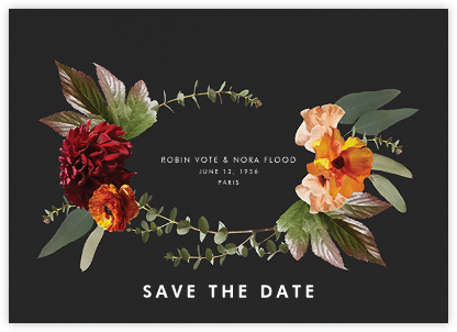 Leiden (Save the Date) - Black - Paperless Post - Save the dates
