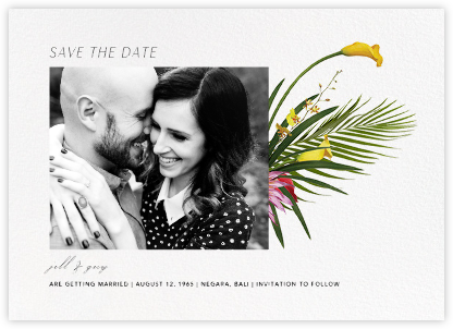 Malacca (Photo Save the Date) - Paperless Post - Modern save the dates