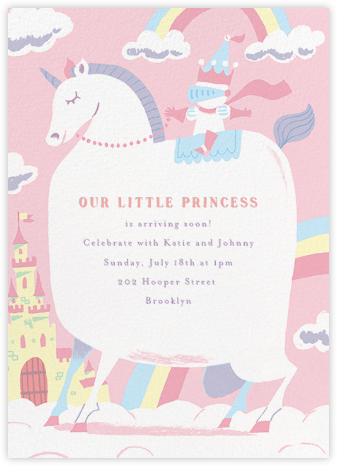 Our Little Princess - Paperless Post - Baby Shower Invitations