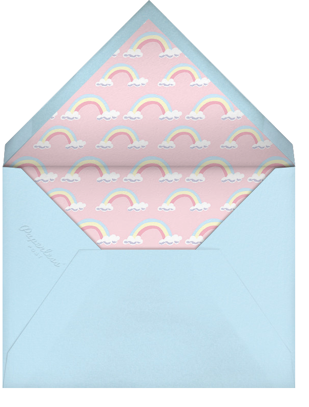 Our Little Princess - Paperless Post - Baby shower - envelope back