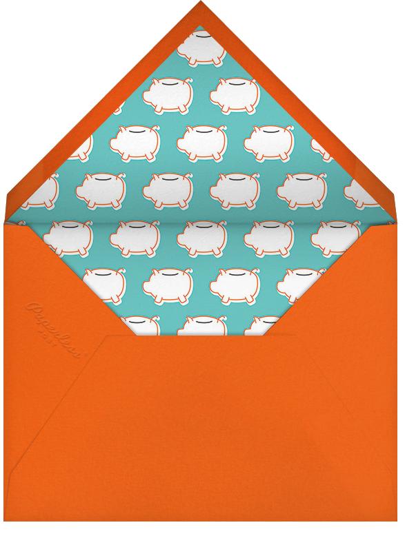 Let's Face It - Derek Blasberg - Baby shower - envelope back