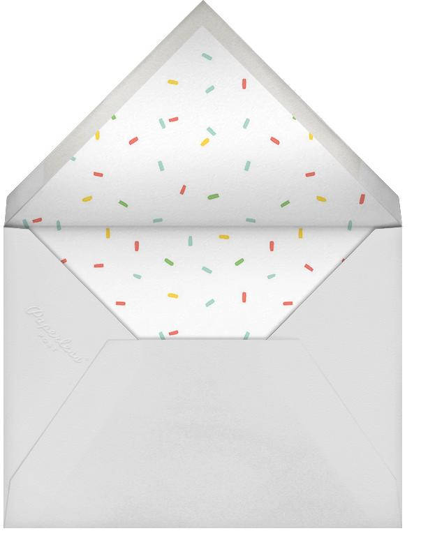 Furfetti - Sherbet/Silver - Paperless Post - Woodland baby shower - envelope back