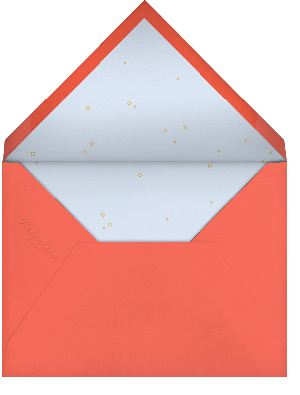 Little Teapot - Paperless Post - Baby shower - envelope back