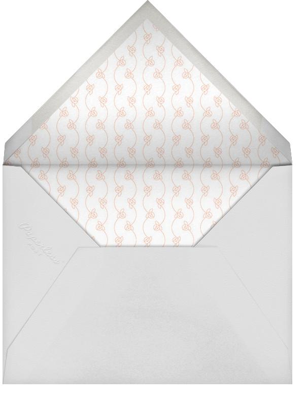 Pram Time - Sherbet - Paperless Post - Baby shower - envelope back