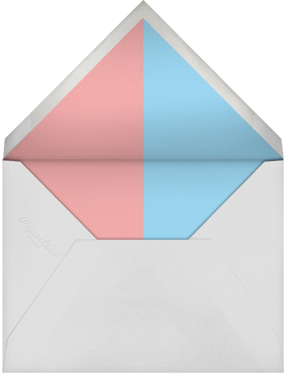 Baby Ballot - Paperless Post - Baby shower - envelope back