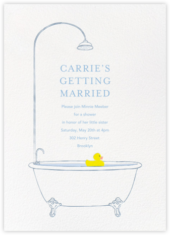 Lucky Duck - Paperless Post - Bridal shower invitations
