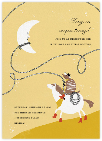 High Moon - Paperless Post - Baby Shower Invitations